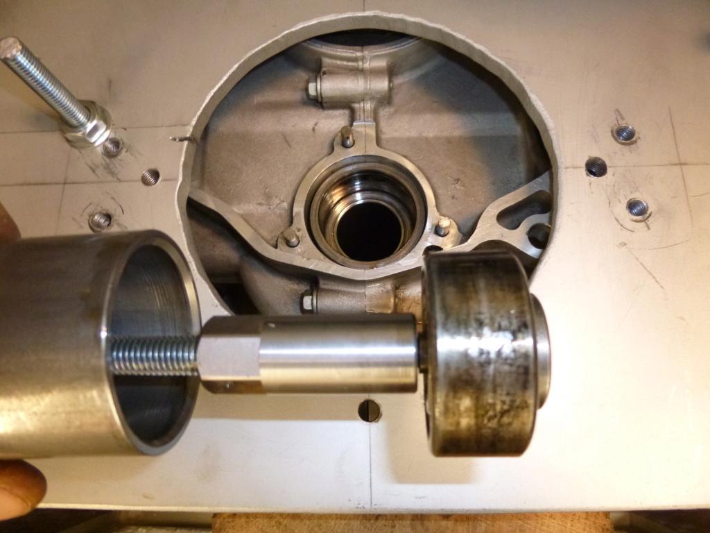 dépose/pose moteur pour grosse révision 03610