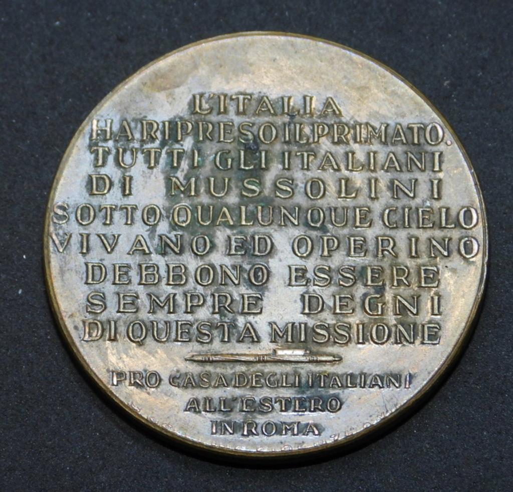 Médaille non portable italie fasciste. Dscn0278