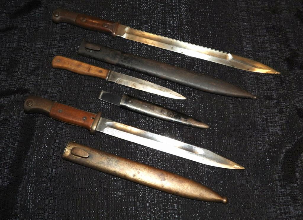 Baïonnettes et couteau de botte. Dscn3610