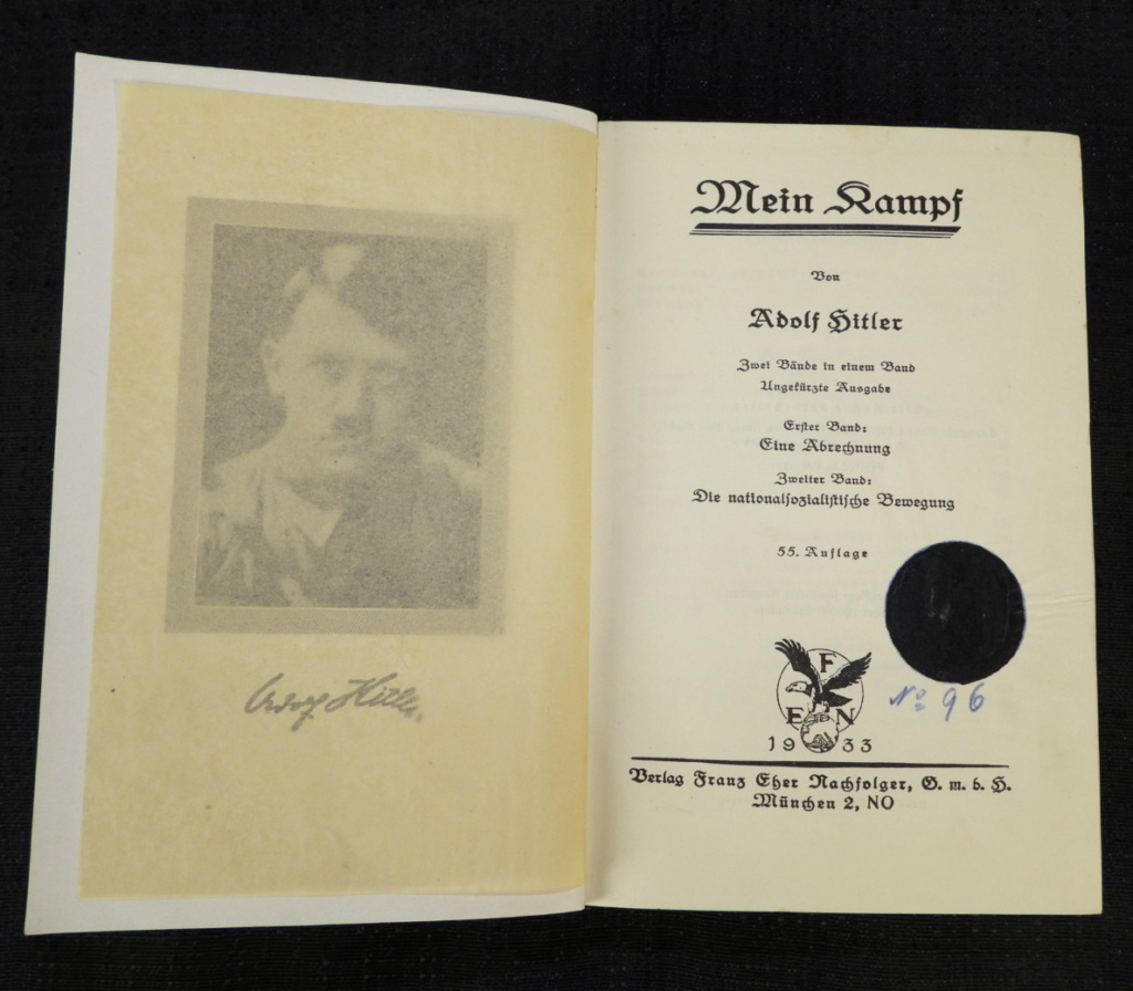 Polizeï, Heer, Mein Kampf Dscn6016
