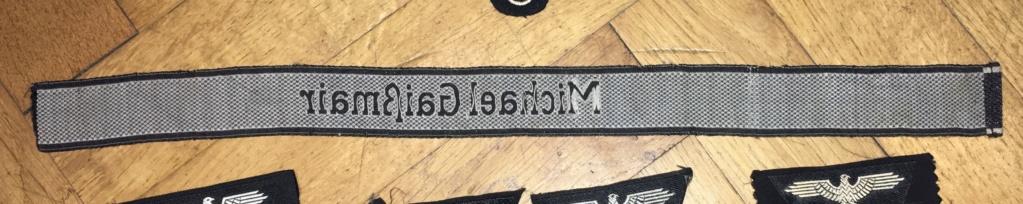 Insignes et bande de bras SS Img_5117