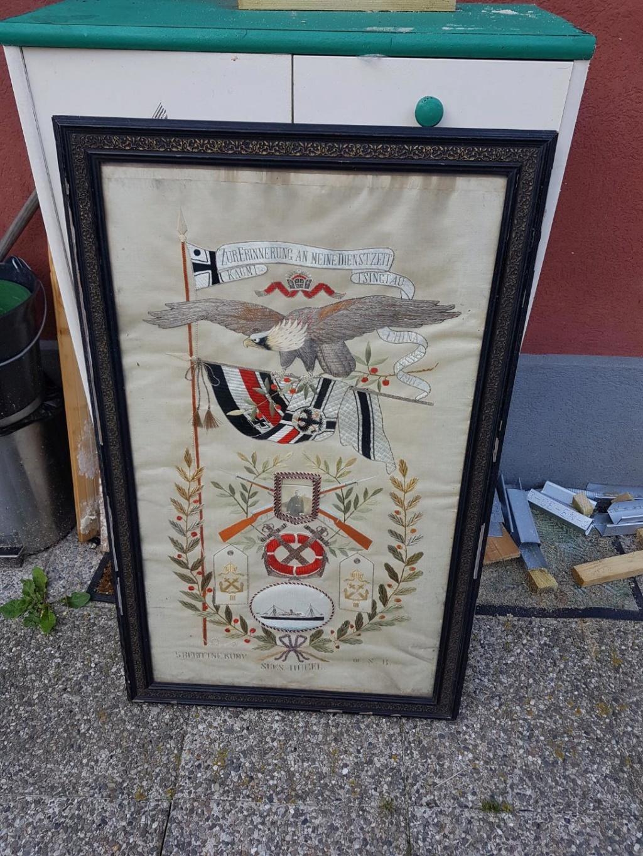 Sanitaire WH, baïonnette, NSDAP, HJ, tableau campagne de Chine Img_5412