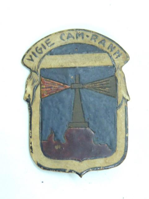 Insigne régimentaire, fabrication locale..... P1640213