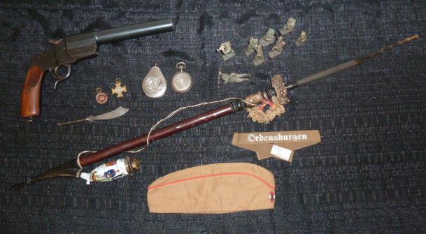 Ordensburgen, Hitlerjugend, Maschinen Gewehr Kompagnie..... P1640413