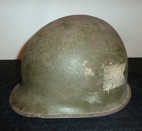 CasqueUSM1 à insigne, schapska prussienne Ersatz tole. P1650146