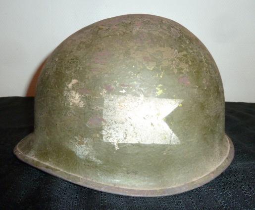 CasqueUSM1 à insigne, schapska prussienne Ersatz tole. P1650147