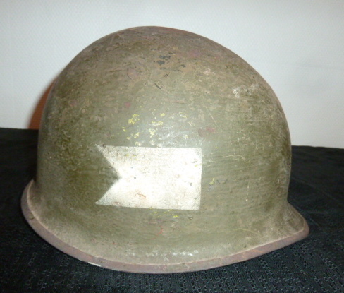 CasqueUSM1 à insigne, schapska prussienne Ersatz tole. P1650148