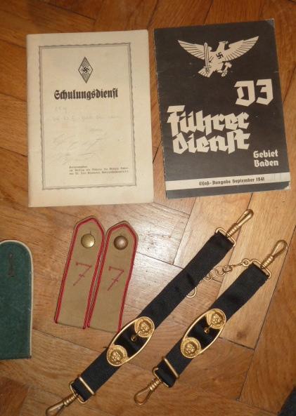 Kriegsmarine, HJ, Tinnies, Heer, Gaede, Stahlhelmbund, brevet US......... P1650934