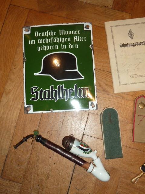 Kriegsmarine, HJ, Tinnies, Heer, Gaede, Stahlhelmbund, brevet US......... P1650935