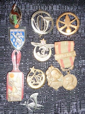 Médailles et décos en nombres, dague DLV, C.P. dont beaucoup de SS, suite! P1670322
