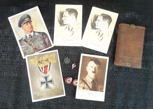 Sanitaire WH, baïonnette, NSDAP, HJ, tableau campagne de Chine P1770033