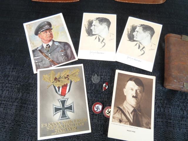 Sanitaire WH, baïonnette, NSDAP, HJ, tableau campagne de Chine P1770034