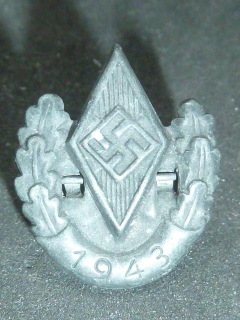 Sanitaire WH, baïonnette, NSDAP, HJ, tableau campagne de Chine P1770117
