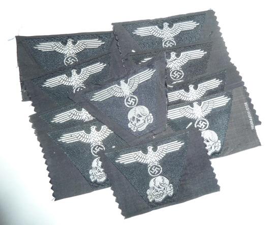 casques à pointe,Insignes, SS, schirmutzen....... P1770626