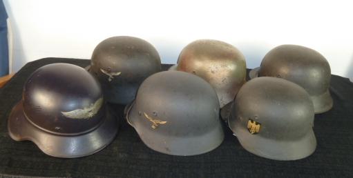 Insignes US et casques allemands P1780611