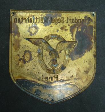 Plaque Luftwaffe  P1820820