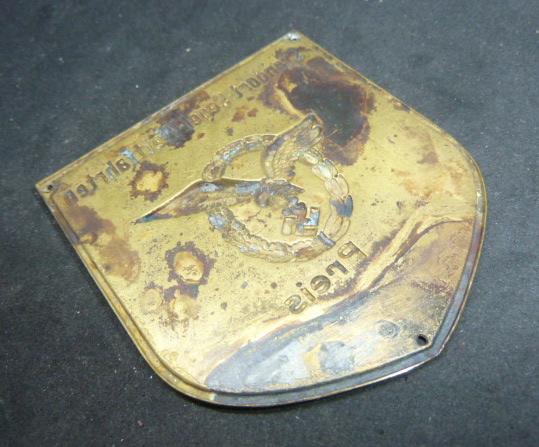 Plaque Luftwaffe  P1820821