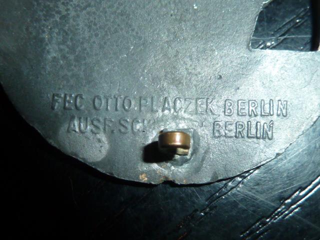 quelques décorations allemandes. P1840640