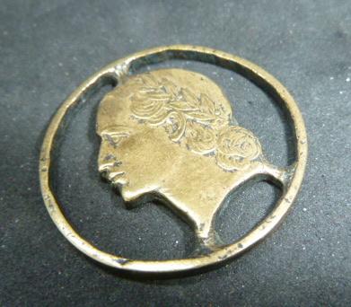 Pièce de 5 Francs ajourée P1850419