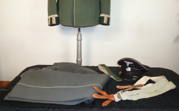 Allgemeine-SS, uniforme WH Heer, aviation allemande 14/18..... P1870613