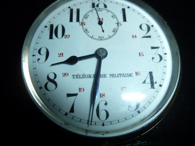"""Montre """"Télégraphie Militaire"""" P1930312"""