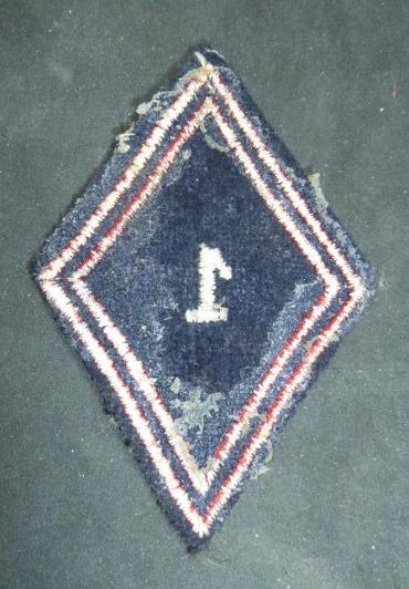 Identification et estimation insignes tissus français. P1930517