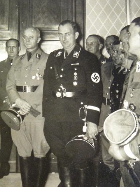 officier supérieur Allgemeine-SS P1940214
