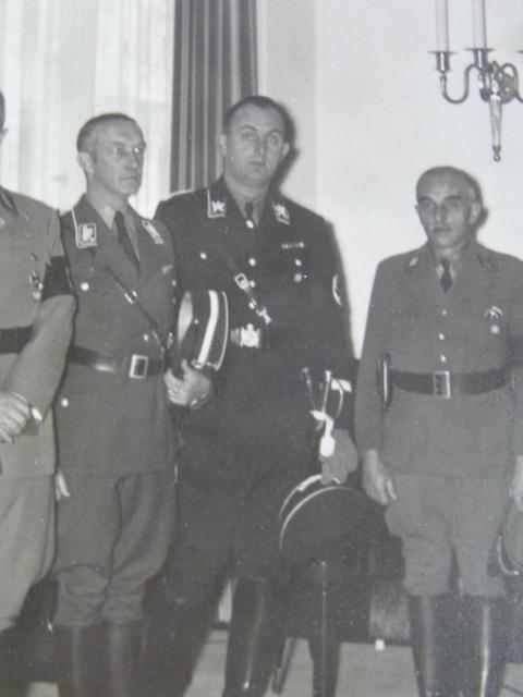 officier supérieur Allgemeine-SS P1940215