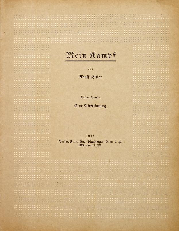 Mein Kampf Rouge Td198810