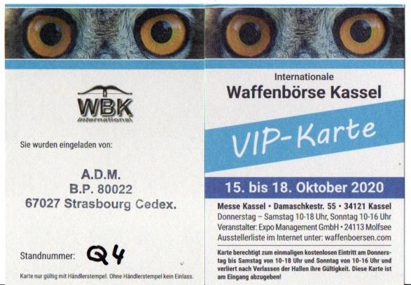 Alsace Direct Militaria à Kassel (15/18 octobre) - VIP Karte offerte Vip_ka11