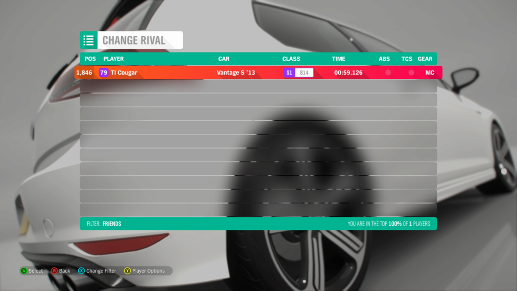FH4 Time Attack | Road Racing Rivals - Greendale Club Circuit Img_1b10