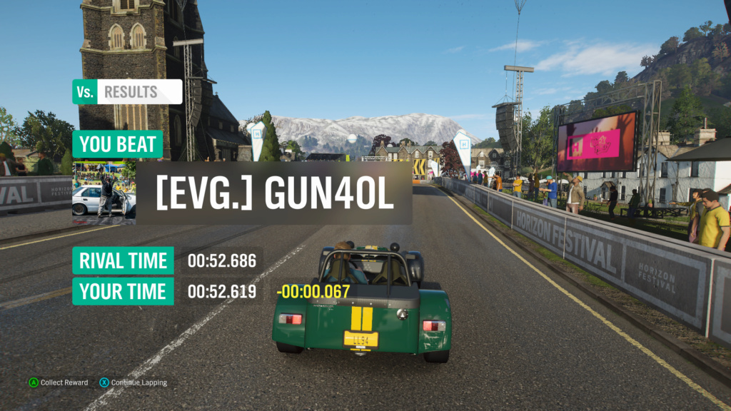 FH4 Time Attack | Road Racing Rivals - Ambleside Village Circuit (Caterham R500)  Img_9110