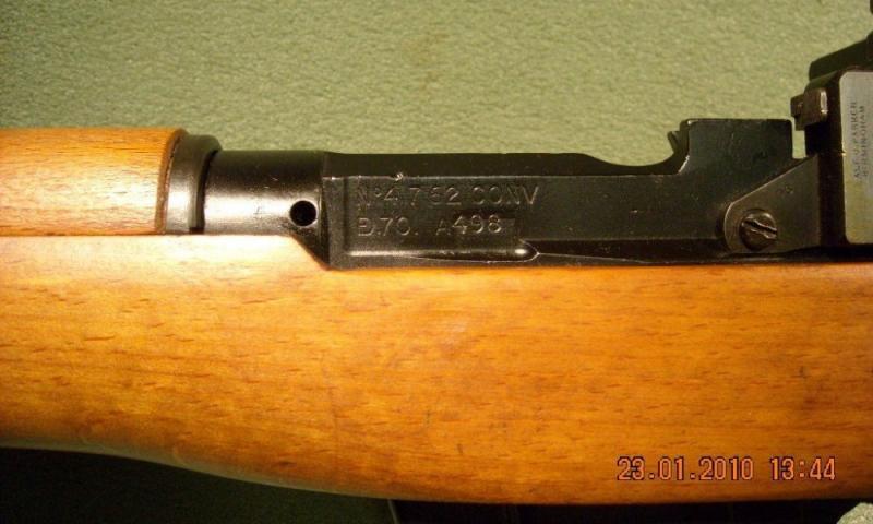N° 8 Mk I avec complément de hausse A. J. Parker 8/53 38236010