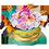 Thomas la Tortue Dindon & Tiffany la Dinde => Fourchette à Voeux Carapace  Makeaw12