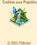 Colline aux Papillons => Morpho Bleu / Piéride des Jardins / Eurytide Epidaus / Monarque Sans_272