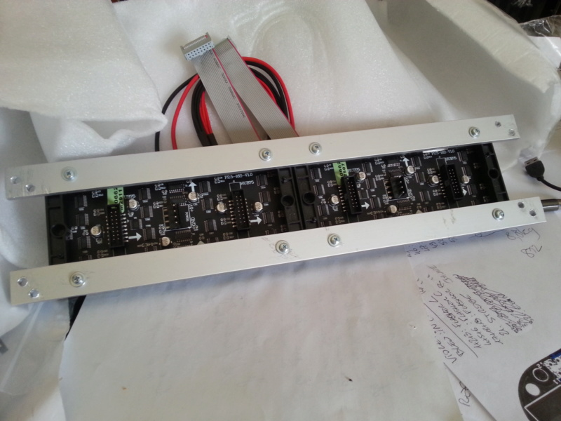 "[WIP 100%] 2° pincab, 43"" 4K/27"" fHD/Pin2DMD/SSF/LEDstrips/Contacters/Knocker/Audio LEDs Dmd_ba11"