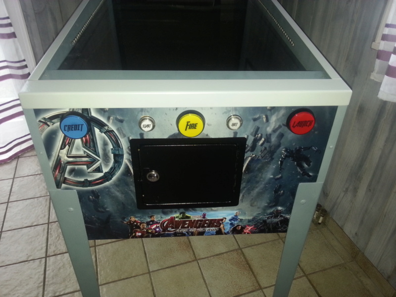 """[WIP 100%] 2° pincab, 43"""" 4K/27"""" fHD/Pin2DMD/SSF/LEDstrips/Contacters/Knocker/Audio LEDs - Page 6 Img_2037"""