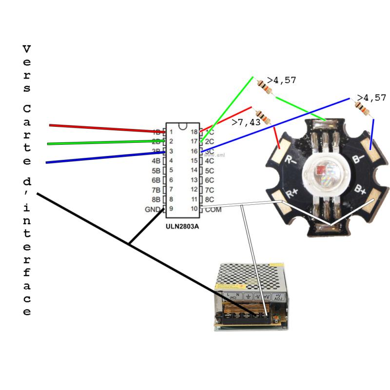 [TUTO] Comment fabriquer son pincab ? Led_rg10