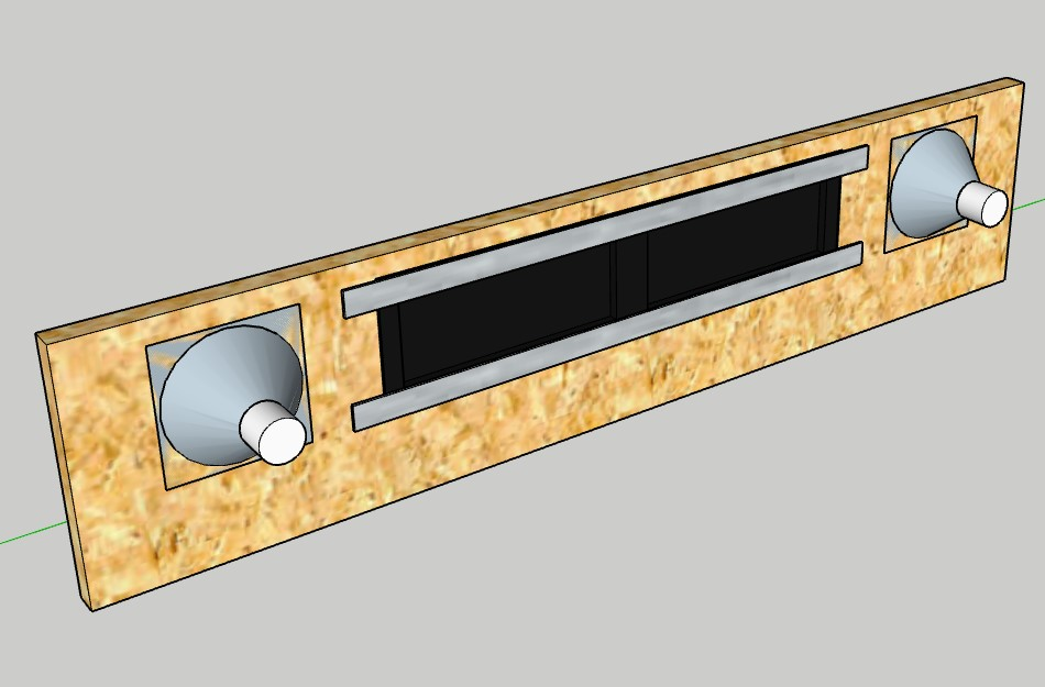 "[WIP 100%] 2° pincab, 43"" 4K/27"" fHD/Pin2DMD/SSF/LEDstrips/Contacters/Knocker/Audio LEDs Pannea11"