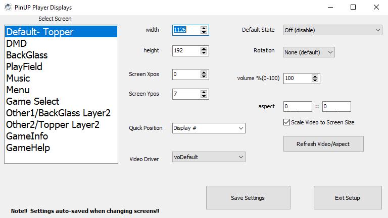 [TUTO] Installation logiciel du pincab dans l'ordre Screen58