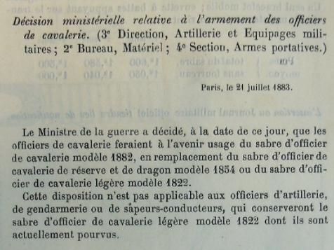 Cavalerie de ligne, 1822, officier, lame 90 cm 3016_p11