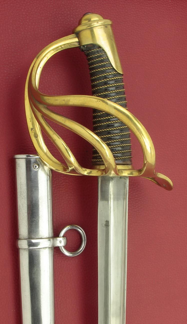 Un modèle injustement mésestimé : le sabre d'officier de cavalerie Mod 1882 _mg_0215