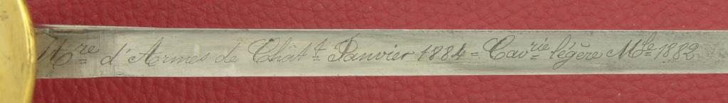 Un modèle injustement mésestimé : le sabre d'officier de cavalerie Mod 1882 _mg_0312