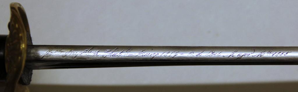 Décoration des sabres d'officier modèles 1822, 1854, 1855, 1883 et 1822-99 - Page 2 _mg_1230
