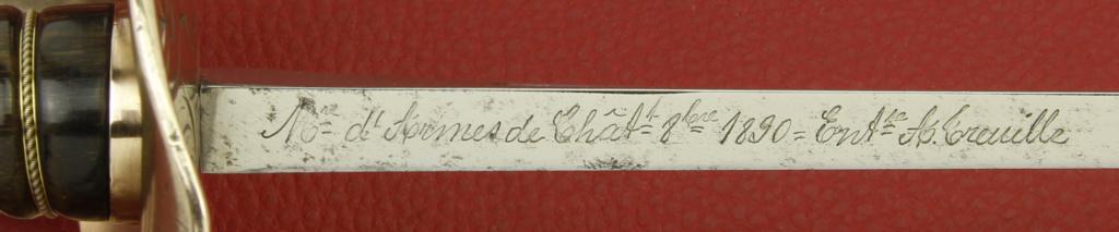 Sabre mle 1890 d'officier de cavalerie, Dérué. _mg_1420