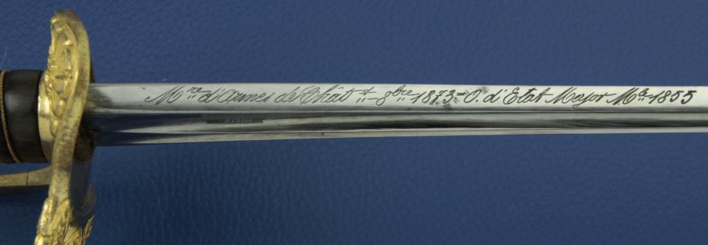 Décoration des sabres d'officier modèles 1822, 1854, 1855, 1883 et 1822-99 - Page 2 _mg_1913