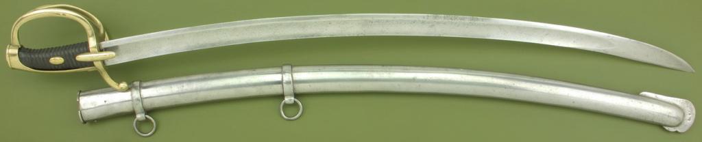Un sabre Mle AN XI troupe de cavalerie légère à lame de Solingen _mg_9312