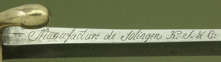 Un sabre Mle AN XI troupe de cavalerie légère à lame de Solingen _mg_9315