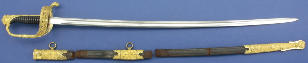 Fourreau pour épée de justice militaire et de sous off de gendarmerie 1853/72 _mg_9926