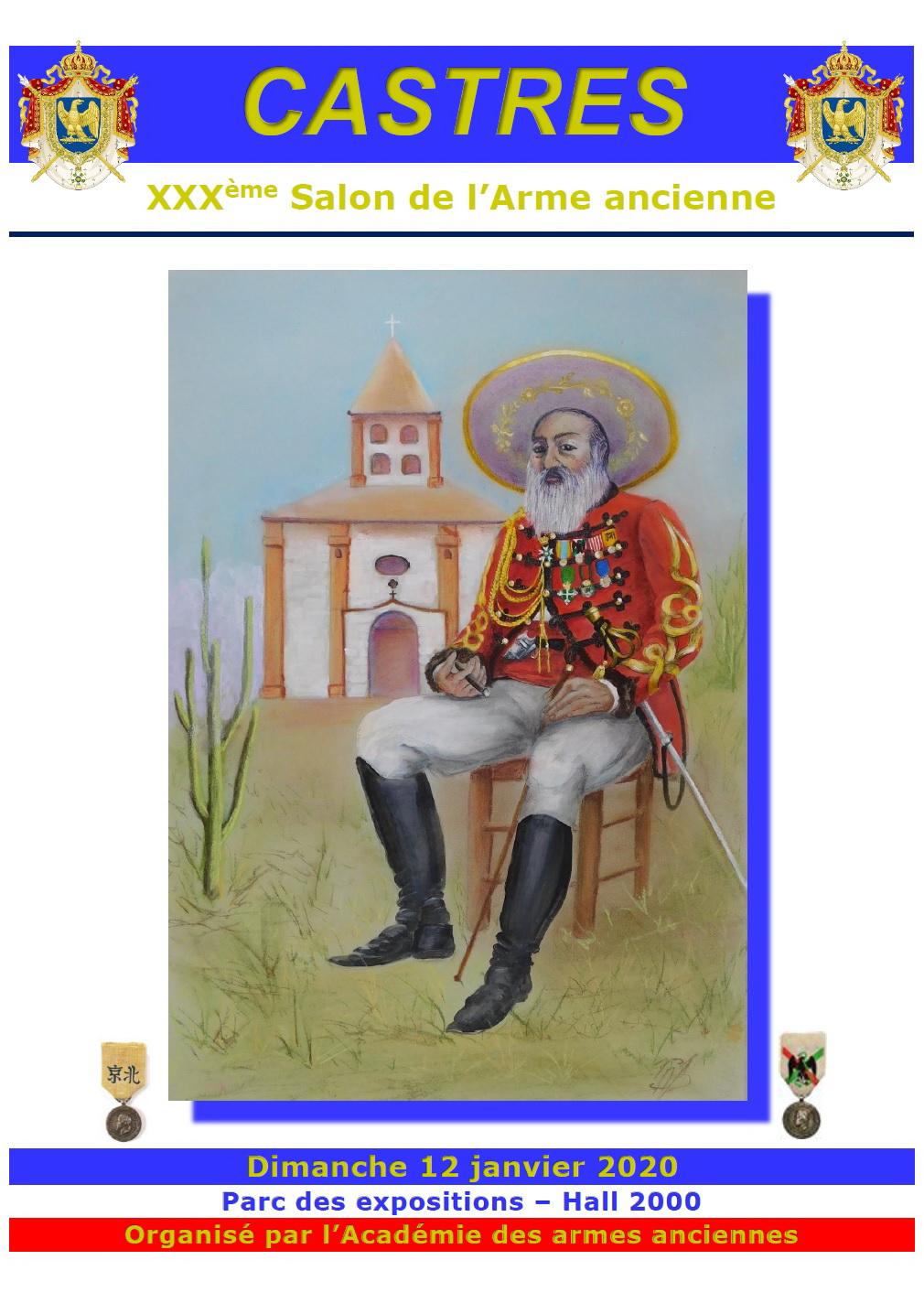 30 ième SALON DE L'ARME ANCIENNE à CASTRES le 12 janvier Affj2010